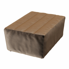 Footstool Shabby 3D Model