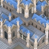 08 59 27 789 fantasy low poly church building 03 4