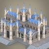 08 59 28 643 fantasy low poly church building 06 4
