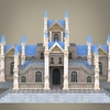 08 59 31 721 fantasy low poly church building 07 4