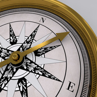 Golden Compass 3d 3D Model