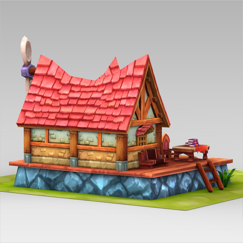 Fantasy sweet home 3d model for Home 3d model