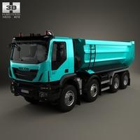 Iveco Trakker Tipper Truck 2013 3D Model