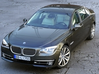 BMW 7 Series Long 2013 3D Model