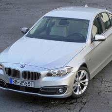 BMW 5 series 2014 3D Model