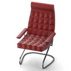 Modern leather chair 3D Model