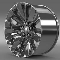 Acura RLX rim 3D Model