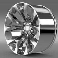 Chrysler 300 Limited 2015 rim 3D Model