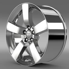 Dodge T rim 3D Model