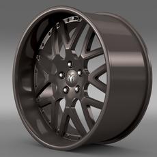 Dodge Vin Diesel Car rim 3D Model