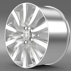 Honda Legend Hybrid rim 2015 3D Model