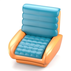 Futuristic design chair 3D Model