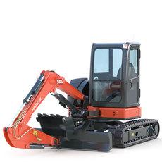 Mini Excavator Hitachi EX50U 3D Model