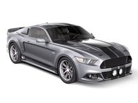 Eleanor Ford Mustang GT500 Shelby Cobra 2015 3D Model