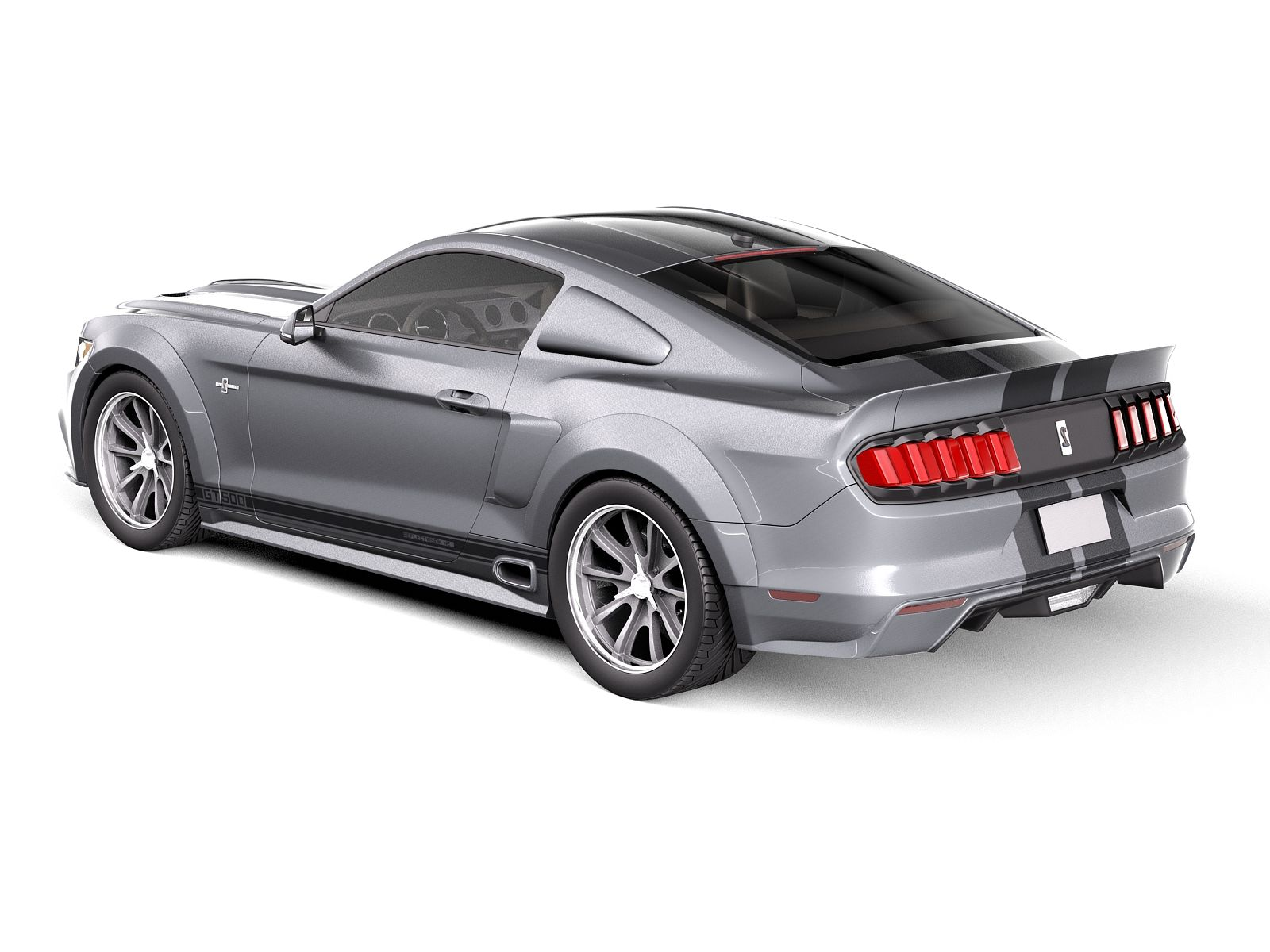 eleanor ford mustang gt500 shelby cobra 2015 3d model. Black Bedroom Furniture Sets. Home Design Ideas