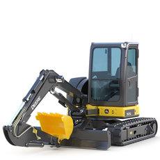 Mini Excavator Deere 50G 3D Model