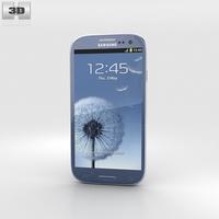 Samsung Galaxy S3 Neo Pebble Blue 3D Model