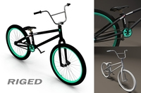 BMX Bicycle 3D Model