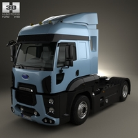 Ford Cargo XHR Tractor Truck 2011 3D Model