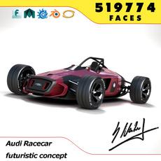 Audi Concept Racecar 3D Model