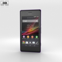 Sony Xperia M Purple 3D Model