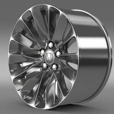 Honda Legend rim 2015 3D Model