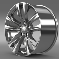Infiniti Q70 Hybrid rim 2015 3D Model