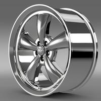 Mopar Dodge Challenger rim 3D Model