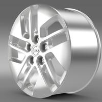 Opel Vivaro rim 2015 3D Model