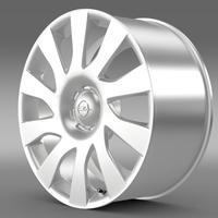 Opel Vivaro Van rim 2015 3D Model