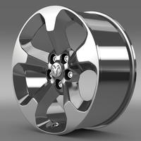 Ram Promaster City Tradesman rim 2015 3D Model