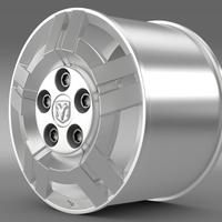 Ram Promaster rim 3D Model
