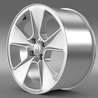 Renault Logan rim 3D Model