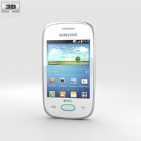 Samsung Galaxy Pocket Neo White 3D Model