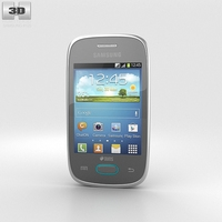Samsung Galaxy Pocket Neo Grey 3D Model