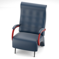Massive armchair 3D Model