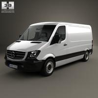 Mercedes-Benz Sprinter Panel Van SWB SR 2013 3D Model