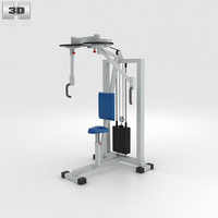 Butterfly Training Machine 3D Model