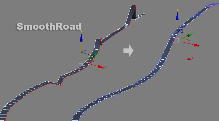 SmoothRoad for 3dsmax