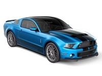 Ford Mustang Shelby Cobra GT500 2013 3D Model