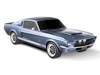 Ford Mustang Shelby Cobra GT500 1967 3D Model