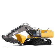 Excavator Deere 870G 3D Model