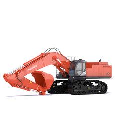 Excavator Hitachi ZX870 3D Model