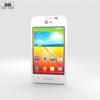LG L40 White 3D Model