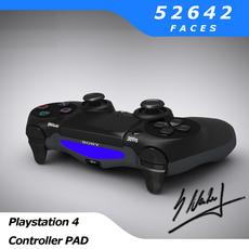PS4 Controller Pad 3D Model