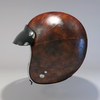 09 55 35 745 helmet motorcycle oldschool retro caferacer leather1 4