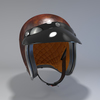 09 55 37 172 helmet motorcycle oldschool retro caferacer leather2 4