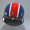 09 55 53 555 helmet motorcycle oldschool retro caferace6 4