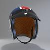 09 56 04 630 helmet motorcycle oldschool retro caferacer3 4