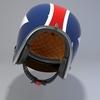 09 56 08 255 helmet motorcycle oldschool retro caferacer6 4